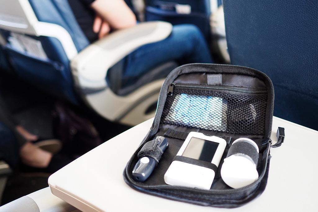 Handgepäck für Diabetiker