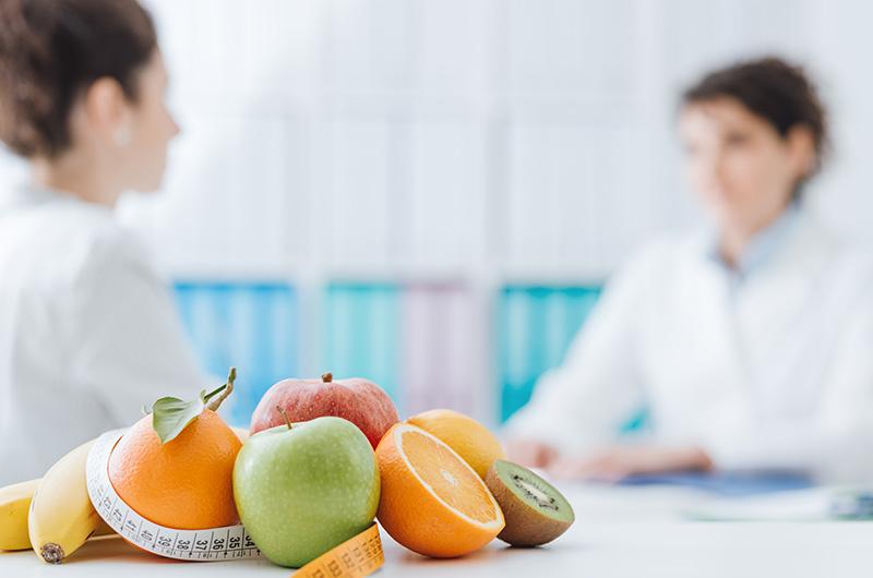 Beratung rund um die Ernährung